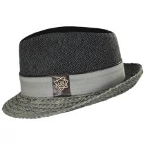 Journey Wool and Raffia Straw Fedora Hat alternate view 19