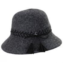 Mattie Wool Blend Cloche Hat alternate view 3