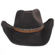 Motya Wool Felt Western Hat alternate view 6