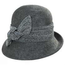 Giardini Wool Cloche Hat in
