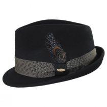 Rexburg Wool Felt Fedora Hat alternate view 3