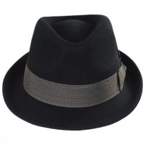 Rexburg Wool Felt Fedora Hat alternate view 2