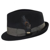 Rexburg Wool Felt Fedora Hat alternate view 3