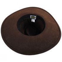 Marin Crushable Wool Fedora Hat in