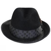 Delta Wool Blend Fedora Hat in