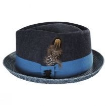 Hillsdale Wool and Toyo Straw Fedora Hat alternate view 7