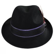 Stockton Wool Felt Fedora Hat alternate view 6