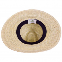 Explorer Palm Straw Safari Fedora Hat alternate view 9