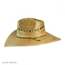 Gardener Lattice Palm Straw Wide Brim Hat alternate view 4