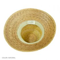 Somerset Palm Straw Cloche Hat alternate view 4