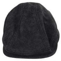 Weathered Faux Leather Ivy Cap in