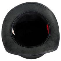 El Dorado Leather Unbanded Top Hat alternate view 4
