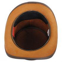 El Dorado Leather Unbanded Top Hat in