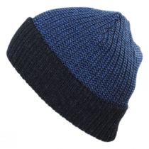 Scullie Knit 2Tone Cuff Beanie Hat in
