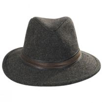 Hoagy Wool Blend Fedora Hat in