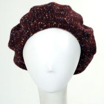 Speckled Wool Blend Beret alternate view 2
