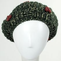 Knit Poinsettia Beret alternate view 2