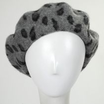 Leopard Wool Beret alternate view 5