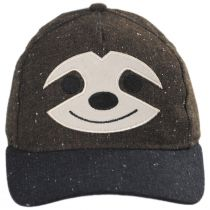Kids Smiling Sloth Baseball Cap alternate view 2
