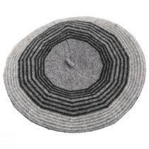 Stripe Wool Beret alternate view 3