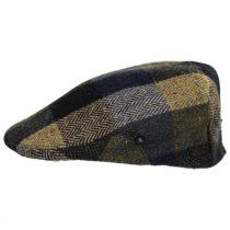 Herringbone Squares Donegal Tweed Wool Ivy Cap alternate view 3