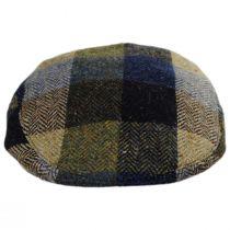 Herringbone Squares Donegal Tweed Wool Ivy Cap alternate view 34