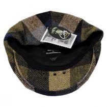 Herringbone Squares Donegal Tweed Wool Ivy Cap alternate view 36