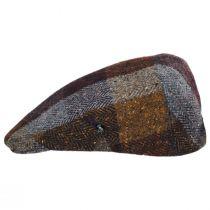 Herringbone Squares Donegal Tweed Wool Ivy Cap alternate view 11