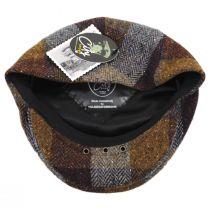 Herringbone Squares Donegal Tweed Wool Ivy Cap alternate view 12