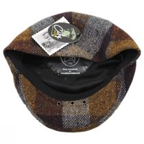 Herringbone Squares Donegal Tweed Wool Ivy Cap alternate view 20