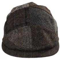 Patchwork Donegal Tweed Wool Ivy Cap alternate view 2