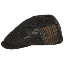 Patchwork Donegal Tweed Wool Ivy Cap alternate view 3