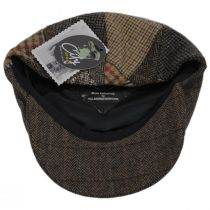 Patchwork Donegal Tweed Wool Ivy Cap alternate view 4