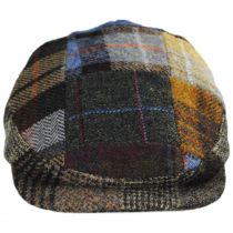 Patchwork Donegal Tweed Wool Ivy Cap alternate view 6