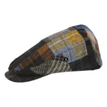 Patchwork Donegal Tweed Wool Ivy Cap alternate view 45