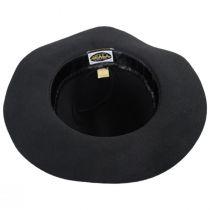Marsala Wool Felt Fedora Hat alternate view 4