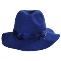 Marsala Wool Felt Fedora Hat alternate view 6