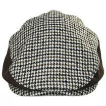 Hooligan II Tweed and Suede Wool Blend Ivy Cap in