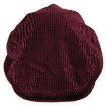 Hooligan Solid Corduroy Cotton Ivy Cap in