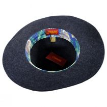 Soul Wool Felt Fedora Hat in