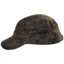 Weathered Leather Cadet Cap alternate view 7