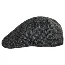 Harris Tweed Barleycorn Wool Pub Cap alternate view 7