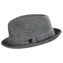 Carson Wool Blend Fedora Hat in