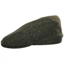 Donegal Tweed Herringbone Wool Ivy Cap alternate view 7