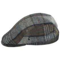 Donegal Tweed Wool Plaid Overcheck Ivy Cap alternate view 3