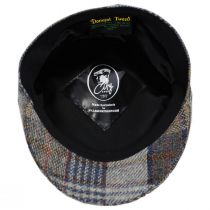 Donegal Tweed Wool Plaid Overcheck Ivy Cap alternate view 4