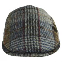Donegal Tweed Wool Plaid Overcheck Ivy Cap alternate view 6