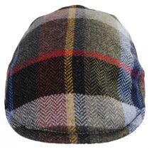 Donegal Tweed Wool Herringbone Patchwork Plaid Ivy Cap alternate view 2