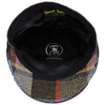 Donegal Tweed Wool Herringbone Patchwork Plaid Ivy Cap alternate view 4