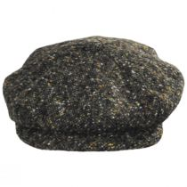 Donegal Tweed Marl Wool Newsboy Cap in